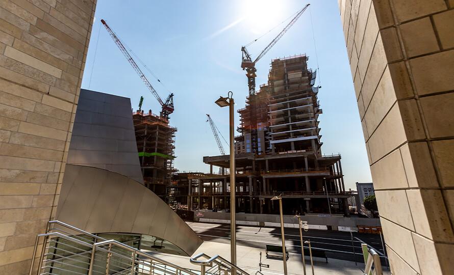 The Grand DTLA construction