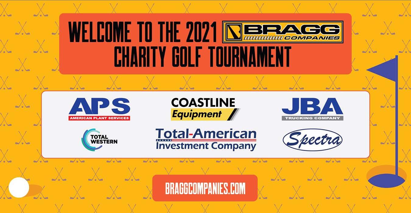 Bragg Companies Charity Golf Tournament Company logos